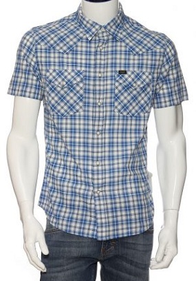 Рубашка мужская Lee 640 IDPS