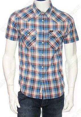 Рубашка мужская Lee с коротким рукавом 640 ZD35