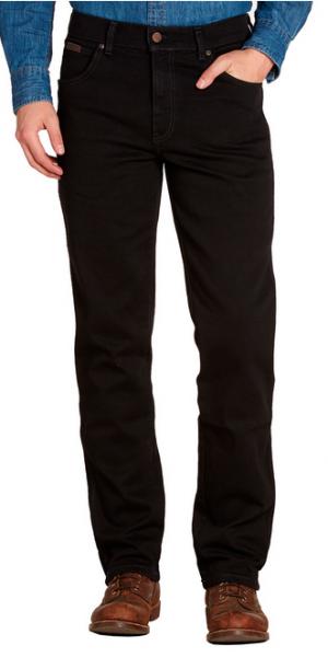 Джинсы черного цвета Wrangler Texas W12109004