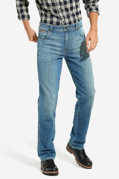 Джинсы мужские светло синие Wrangler Texas Stretch 1219237X