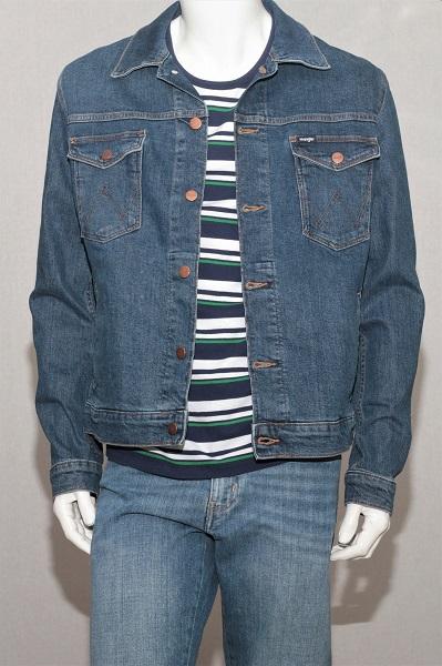 Джинсовая куртка Wrangler W4481514V