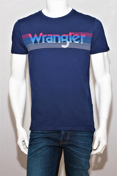 Wrangler футболка мужская 7B27FK49
