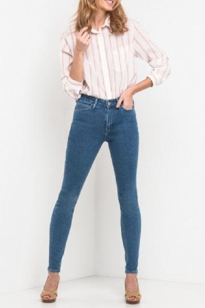 Узкие женские джинсы Lee Scarlett High L626HABE