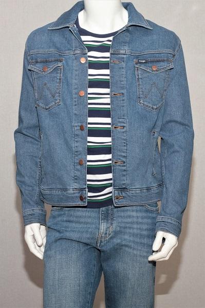 Джинсовая мужская куртка Вранглер W44323091
