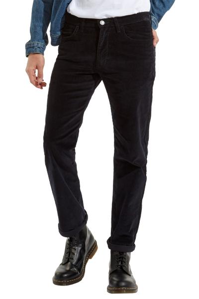 Bельветовые синие джинсы Wrangler Arizona W120EC114