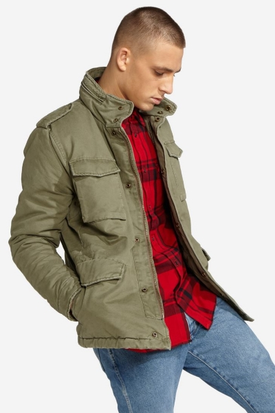 Куртка Wrangler мужская цвета хаки W4730WR45