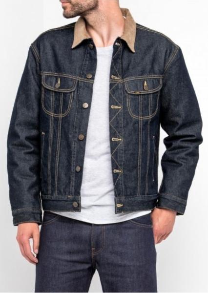 Куртка джинсовая утепленная мужская Лии L87BRD36