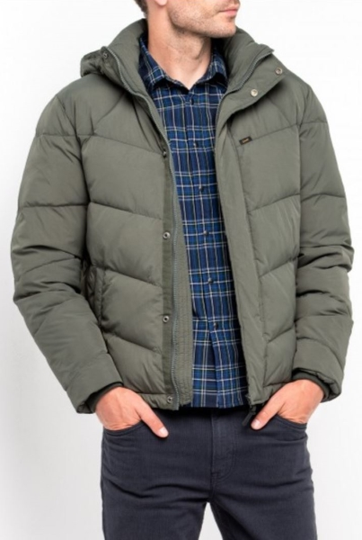 Демисезонная куртка с капюшоном Lee L86U MEKB