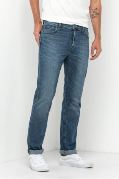 Светло-синие джинсы прямого кроя Lee Morton L788 DXRO