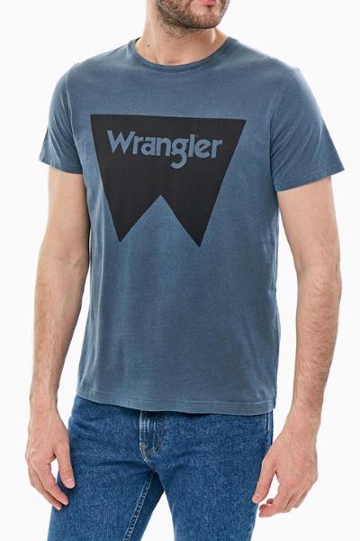 Темно синяя футболка Вранглер W7C14FQ35