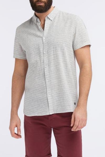 Рубашка  мужская льняная Mustang