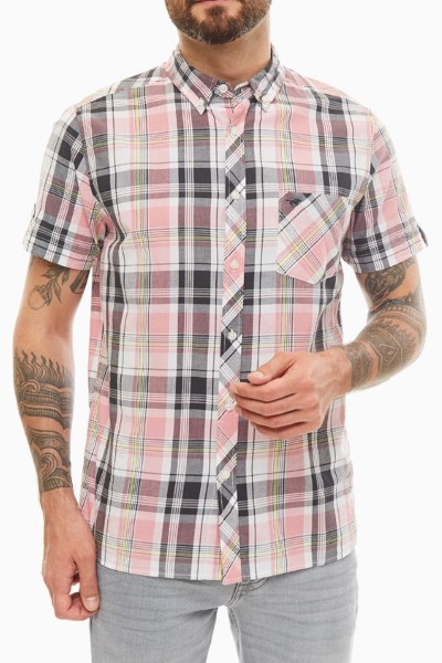 Рубашка с накладным карманом Mустанг