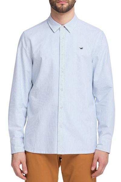 Рубашка мужская в полоску Мустанг