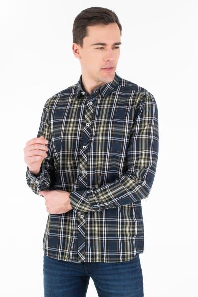 Рубашка с длинным рукавом для мужчин
