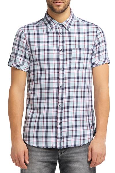 Мужская рубашка Мустанг на пуговицах