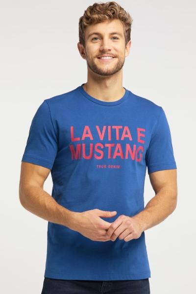Мужская футболка с буквенным принтом