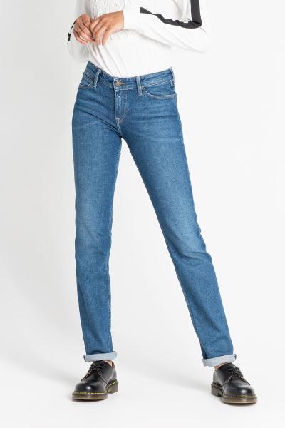 Женские джинсы Lee Marion синего цвета