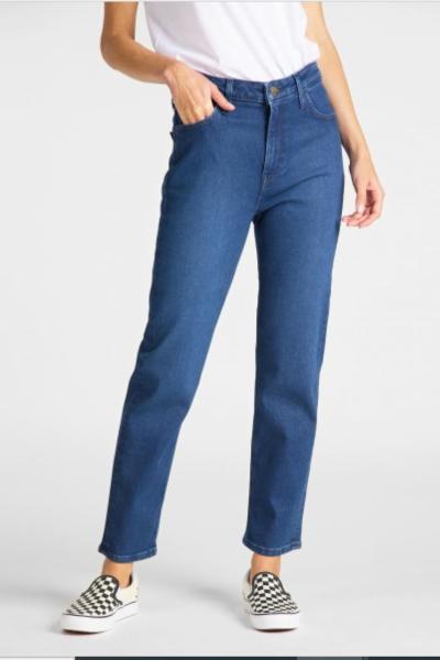 Женские прямые джинсы Лии с высокой посадкой