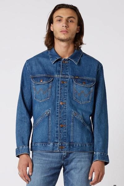 Джинсовая куртка Wrangler для мужчин