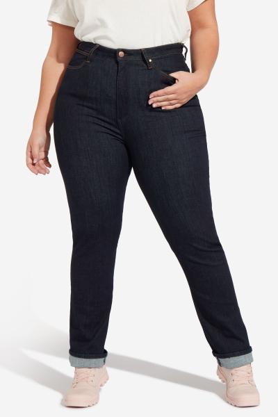 Женские джинсы прямого кроя (Straight Plus) больших размеров