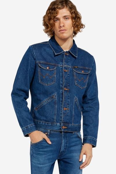 Мужская джинсовая куртка Вранглер