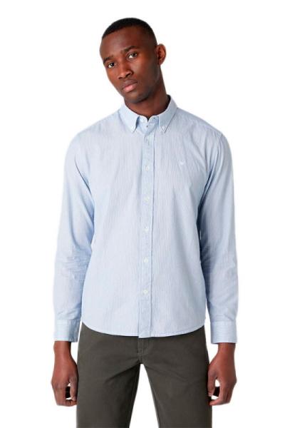 Мужская рубашка Wrangler в мелкую полоску