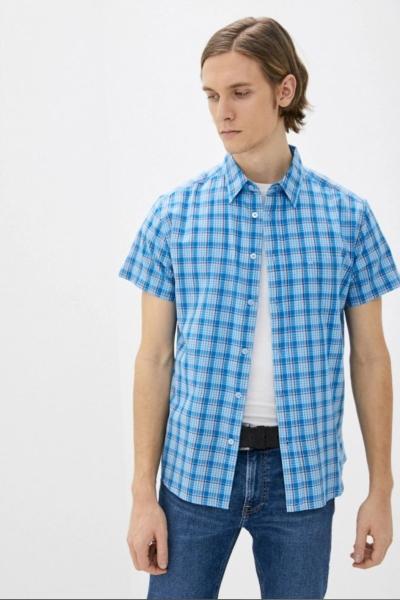 Клетчатая рубашка Wrangler W5J11OXVT