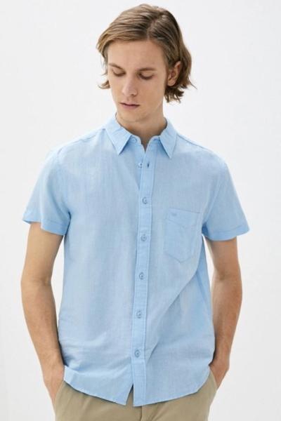 Рубашка льняная Wrangler W5J1LOXVT