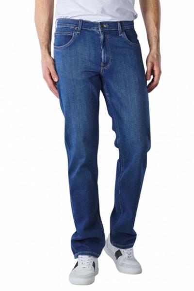 Синие джинсы для мужчин Lee Brooklyn Straight L452NOWH