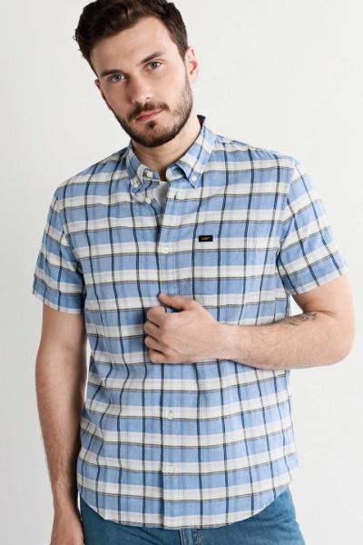 Мужская рубашка Lee c коротким рукавом