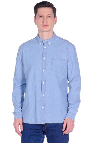 Рубашка Wrangler мужская с накладным карманом